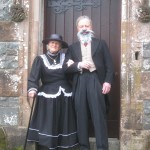 Professor and Mrs Maxwel return to Glenlair