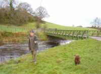 Bailey Bridge at Fort Knowe