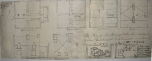 Detailed plans of Glenlair House